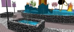 Fountain Piece Illusion 0013